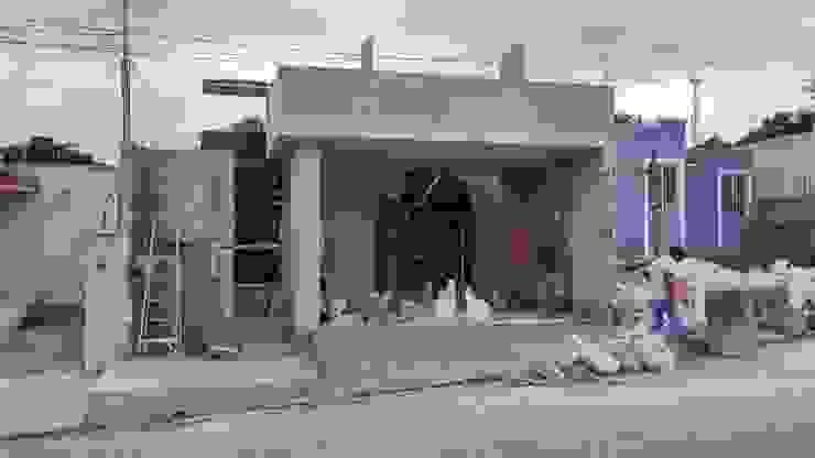 Vista proceso de construcción de RecreARQ Construcciones