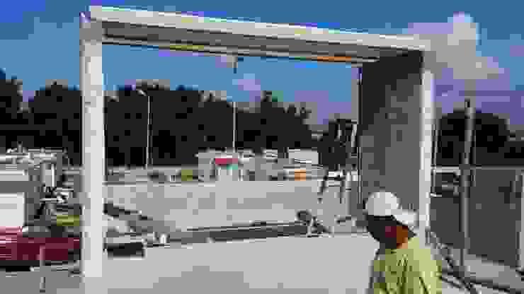 Detalle de terraza de RecreARQ Construcciones