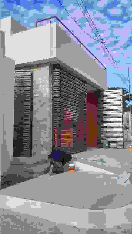 Fachada principal de RecreARQ Construcciones