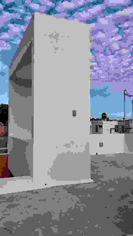 Detalle espacio para terraza de RecreARQ Construcciones