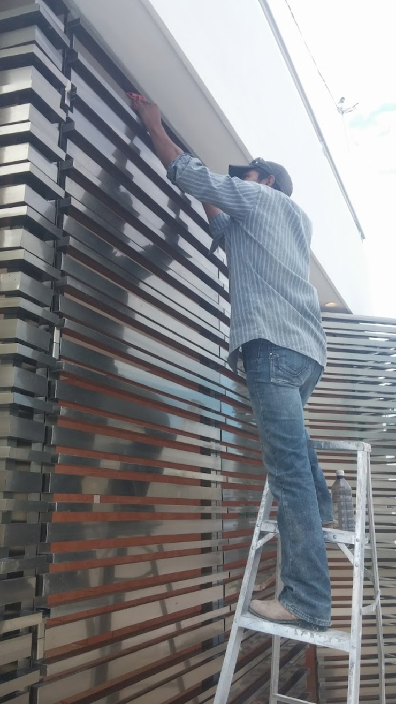 Detalle limpieza final de RecreARQ Construcciones