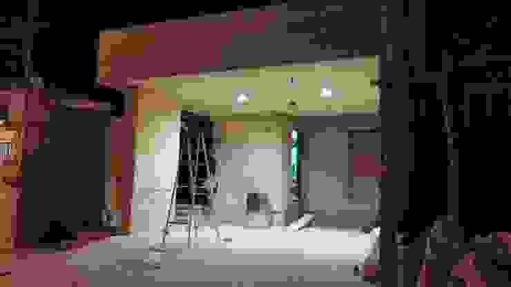 Detalles prueba de iluminación. de RecreARQ Construcciones