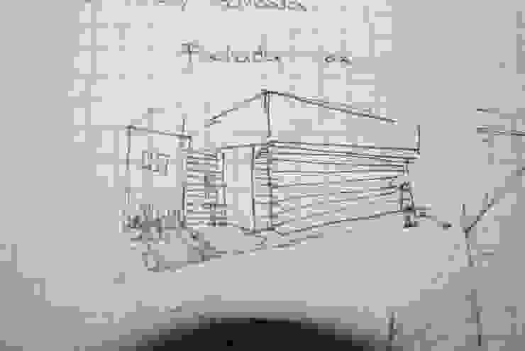 Detalles bosquejos originales de RecreARQ Construcciones