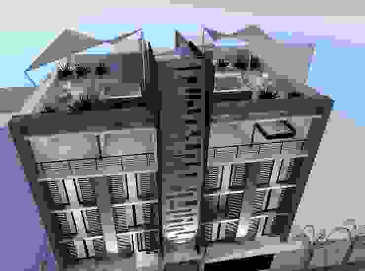 """Conjunto Habitacional """"Los Pinos"""" Casas modernas de Lima Arquitectos Moderno Concreto"""