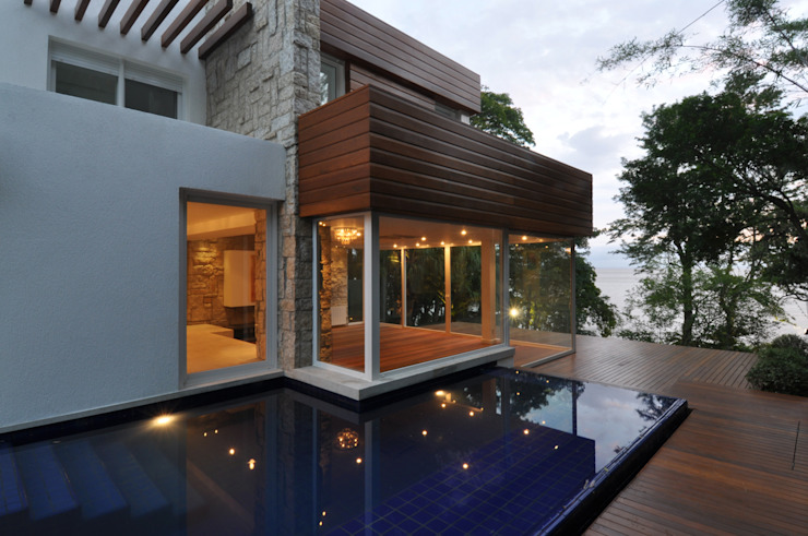 Casas estilo moderno: ideas, arquitectura e imágenes de Stemmer Rodrigues Moderno