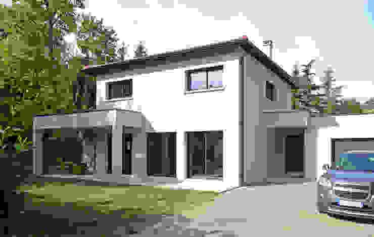 Modern home by Pierre Bernard Création Modern