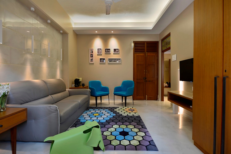 Modern living room by homify Modern Tiles