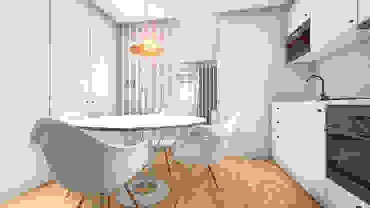 Revisão de projecto - Cozinha Cozinhas modernas por Arq. Duarte Carvalho Moderno