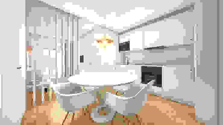 Cozinha - Revisão de projecto Cozinhas modernas por Arq. Duarte Carvalho Moderno