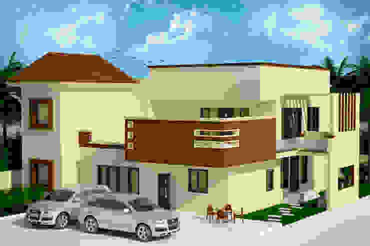 Casas de estilo rústico de Ar. Sukhpreet K Channi Rústico
