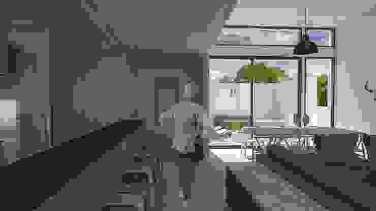 Casa BIG house modelo La Niña Cocinas de estilo moderno de Inmobiliaria BIG house Moderno