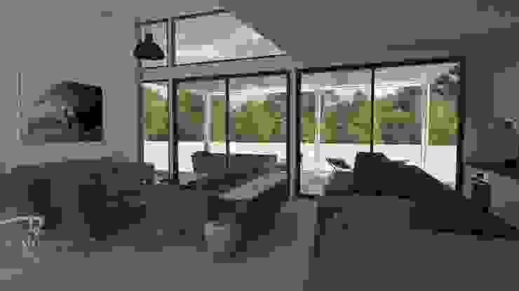 Casa BIG house modelo La Niña Livings de estilo moderno de Inmobiliaria BIG house Moderno