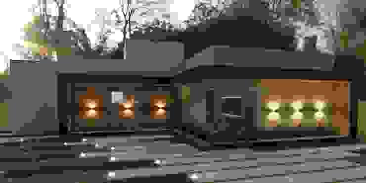 Residência Térrea Vitral Studio Arquitetura Casas modernas