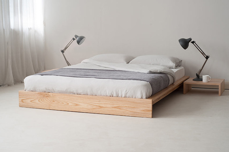 Slaapkamer door Natural Bed Company,