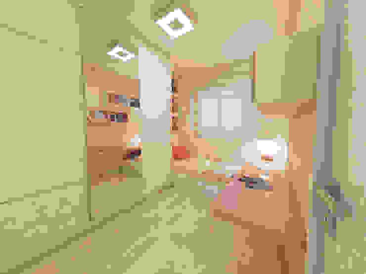 Dormitório de Menina Vitral Studio Arquitetura Quarto infantil moderno