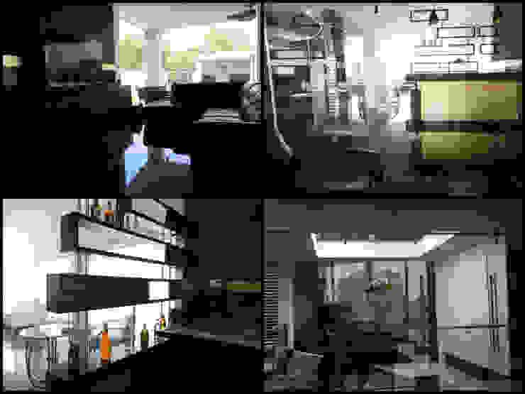 Salones de estilo minimalista de APF arquitectos Minimalista