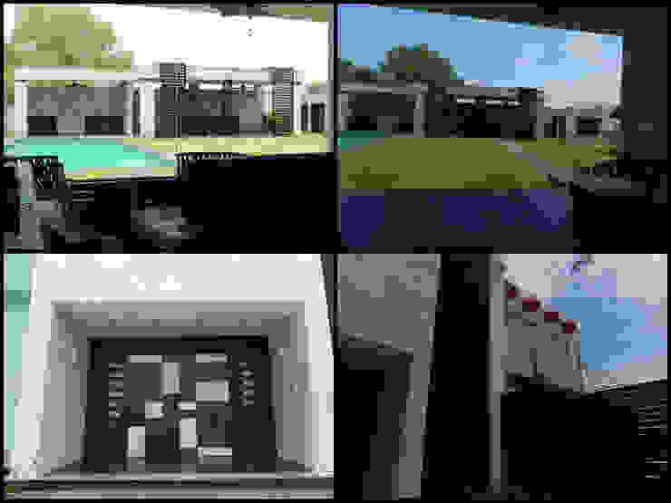 Balcones y terrazas de estilo minimalista de APF arquitectos Minimalista