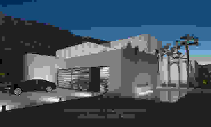 Garajes y galpones de estilo  por David Marchante  |  Inmaculada Bravo, Minimalista