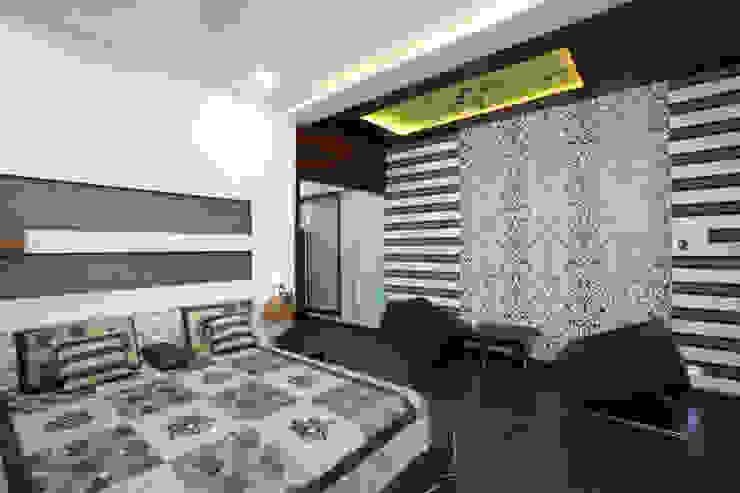 M B M architects Minimalist bedroom