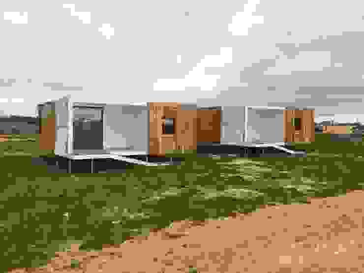SW Lodge Hotéis eclécticos por Jular Madeiras Eclético Madeira Acabamento em madeira