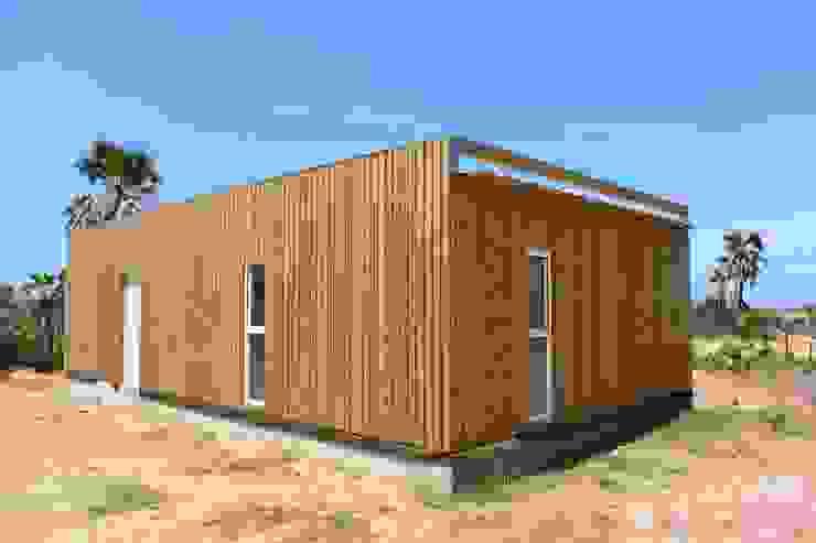 Houses by Jular Madeiras, Modern Wood Wood effect