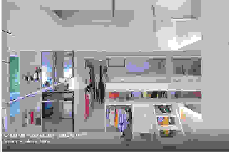 studio m+ by masato fujii Eclectic style bedroom