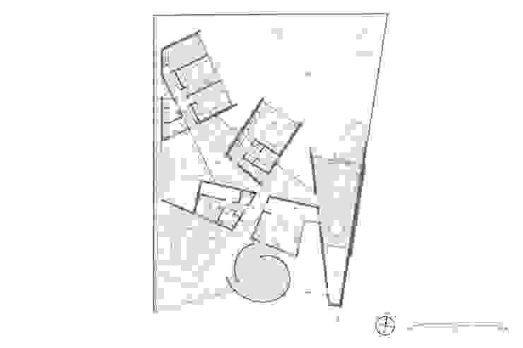 Planta Nivel 1 de Swett Arquitectos Moderno