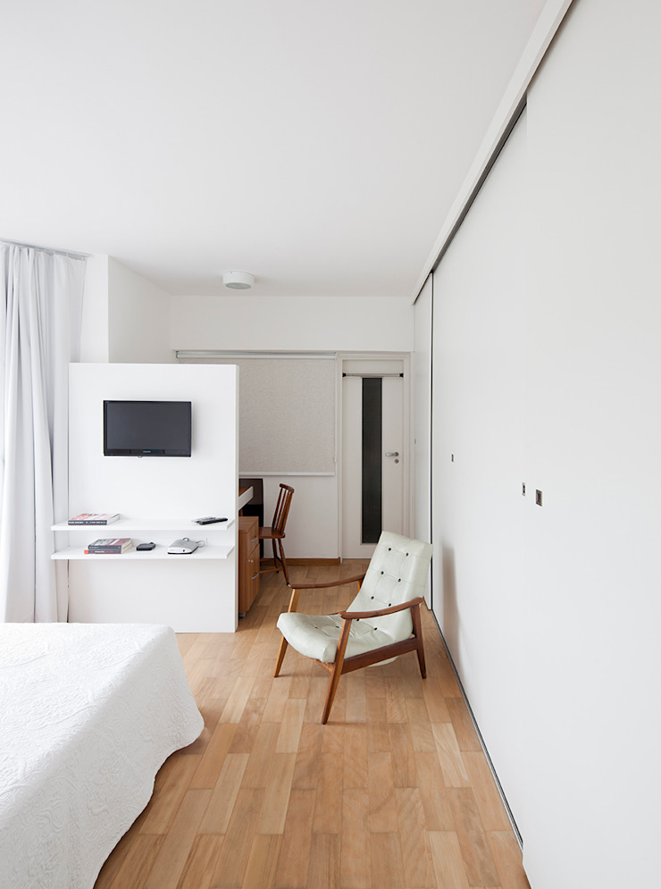 Dormitorios de estilo moderno de Zoom Urbanismo Arquitetura e Design Moderno
