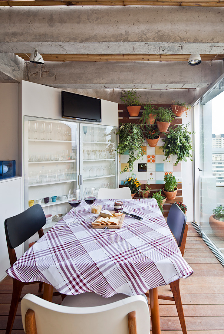 Modern Yemek Odası Zoom Urbanismo Arquitetura e Design Modern