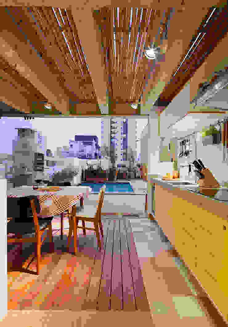 Cocinas de estilo moderno de Zoom Urbanismo Arquitetura e Design Moderno