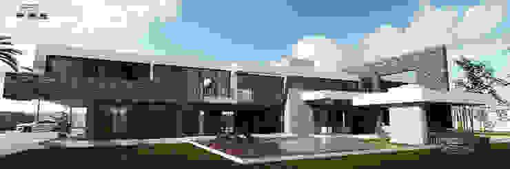 Residencia de lujo Vestidores minimalistas de D3c Arquitectos Minimalista
