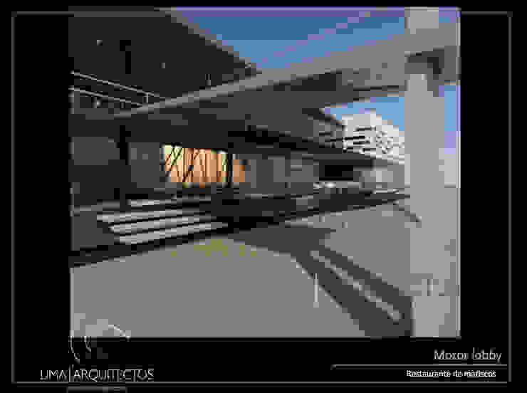 Modern houses by Lima Arquitectos Modern Aluminium/Zinc