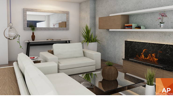 modern  oleh AParquitectos, Modern