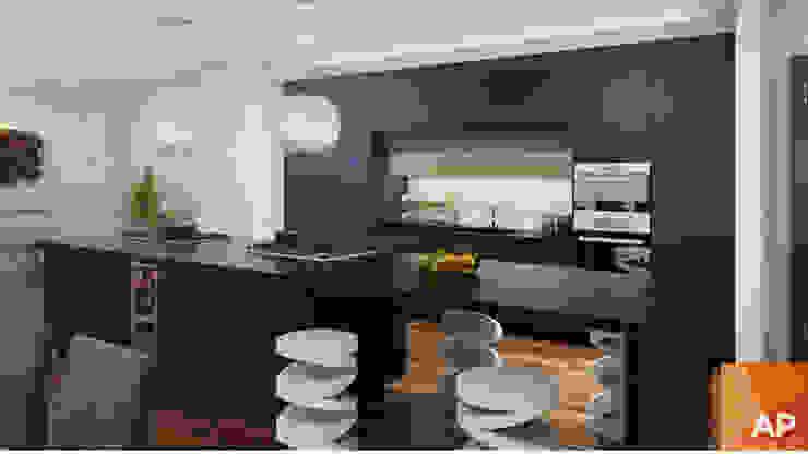 Cocina de AParquitectos Moderno