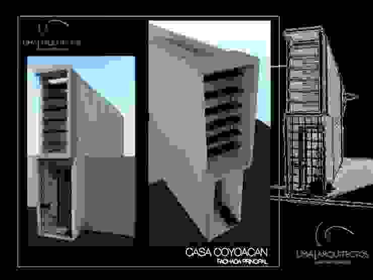CASA COYOACAN Casas modernas de Lima Arquitectos Moderno Concreto
