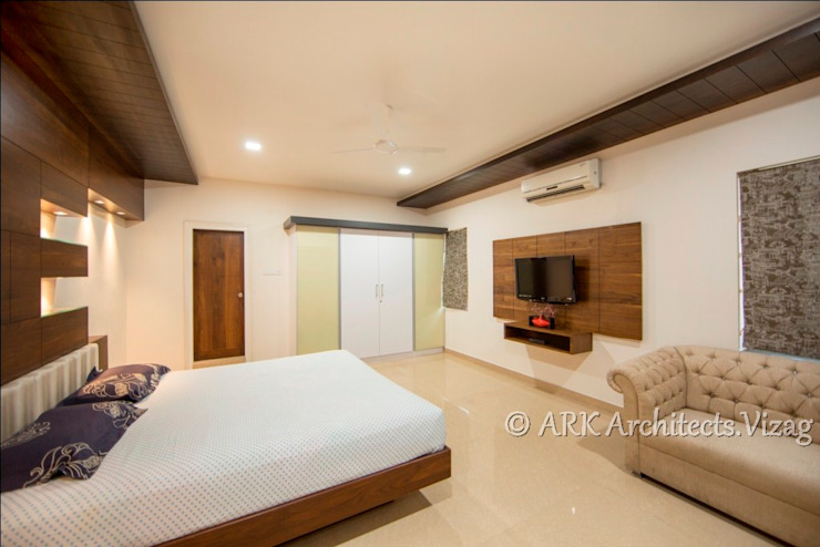 Bedroom Modern style bedroom by ARK Architects & Interior Designers Modern