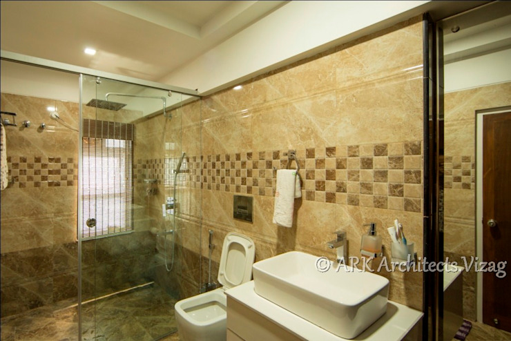 Bath Modern bathroom by ARK Architects & Interior Designers Modern