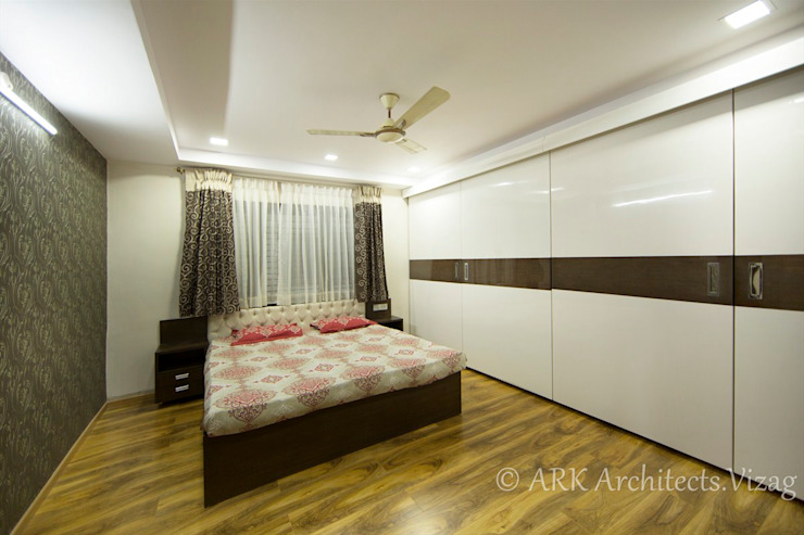 Bedroom ARK Architects & Interior Designers Modern style bedroom
