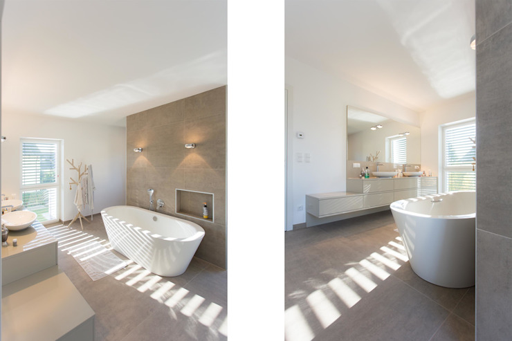 Modern bathroom by Atelier Fürtner-Tonn Modern Ceramic