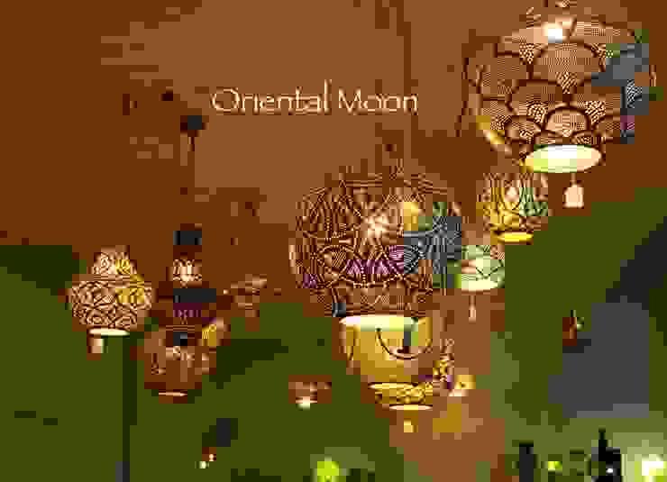 orientalische Hängelampen Oriental Moon WohnzimmerBeleuchtung Kupfer/Bronze/Messing Mehrfarbig
