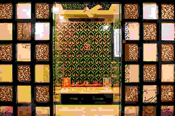 Moderner Flur, Diele & Treppenhaus von ESHA GARG : Interior Designer Modern