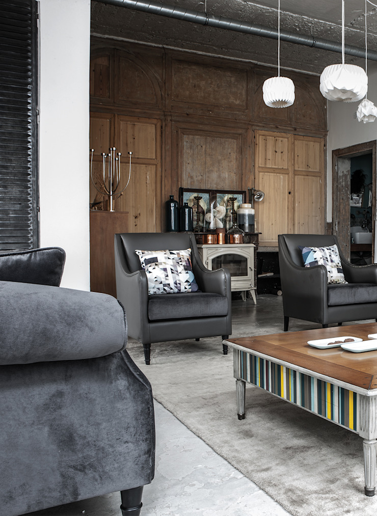 Grange México Salas/RecibidoresSofás y sillones Textil Gris