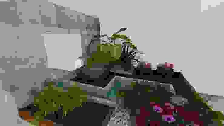 A-labastrum arquitectos Minimalist style garden