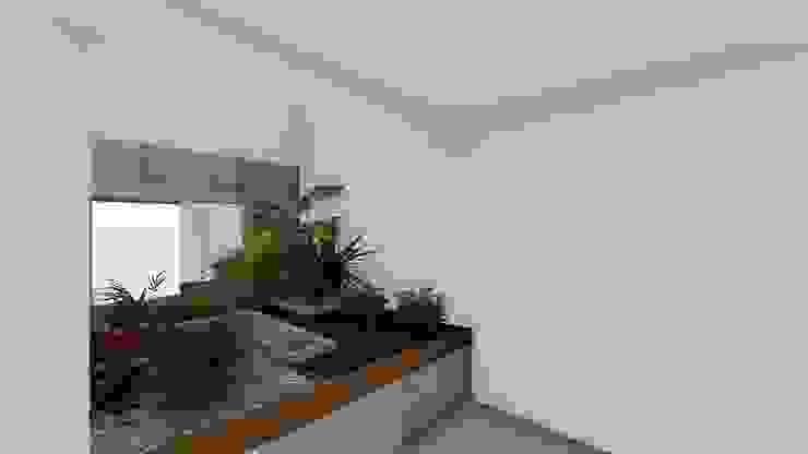 Gimnasios domésticos de estilo minimalista de A-labastrum arquitectos Minimalista