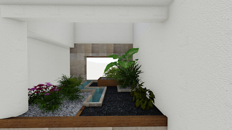 โดย A-labastrum arquitectos มินิมัล