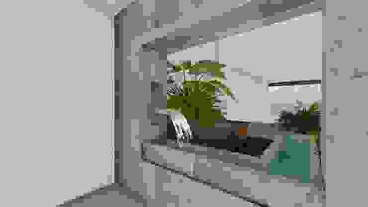 Jardines de estilo minimalista de A-labastrum arquitectos Minimalista