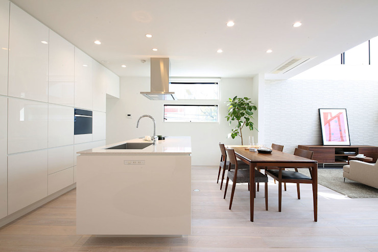 TERAJIMA ARCHITECTS/テラジマアーキテクツ Cocinas de estilo moderno