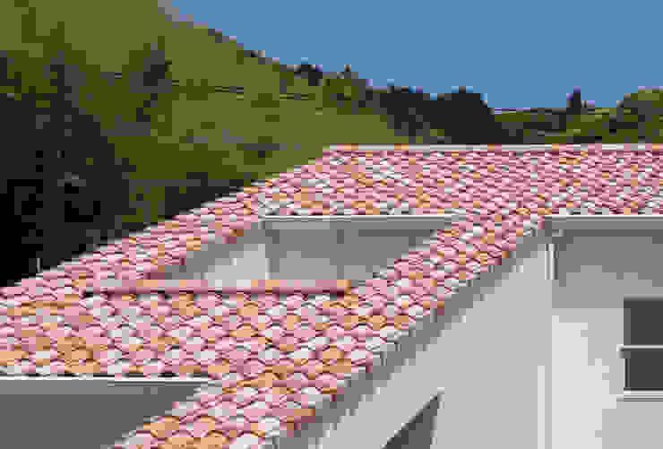 지중해스타일 주택 by 田村の小さな設計事務所 지중해 벽돌