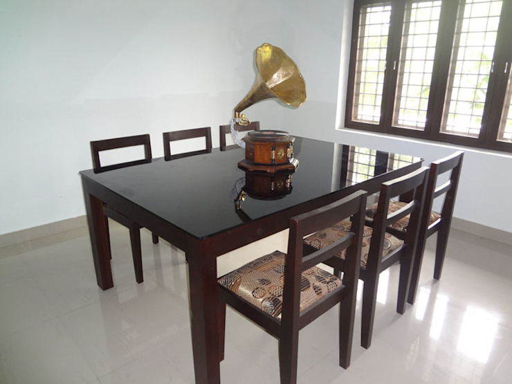 Our Interior Design Works: asian  by Aishwarya Developers ,Asian Wood Wood effect