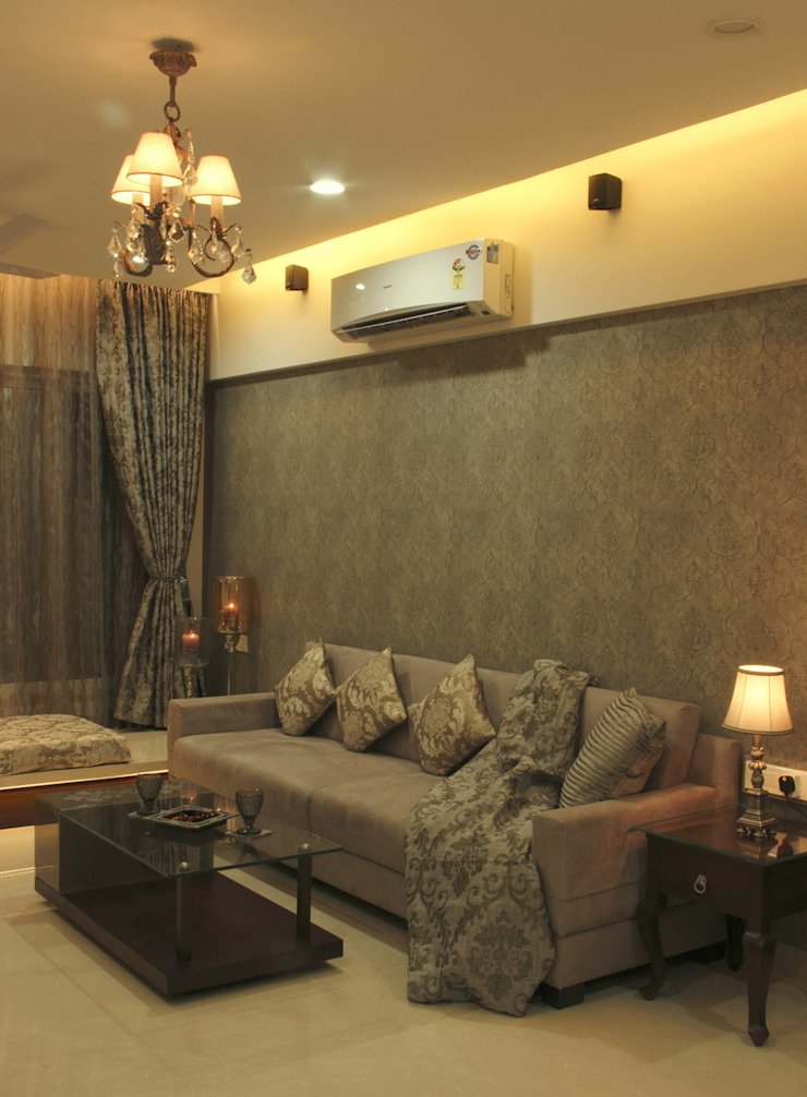 .. Modern living room by Neha Changwani Modern